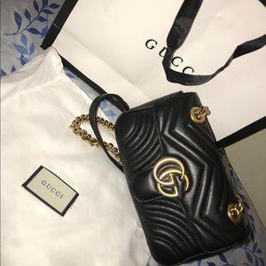 GG Marmont 2.0 Matelasse Leather Shoulder Bag